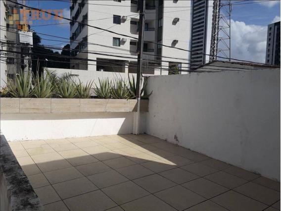 Casa Com 2 Dormitórios Para Alugar, 120 M² Por R$ 1.600,00/mês - Torre - Recife/pe - Ca0298