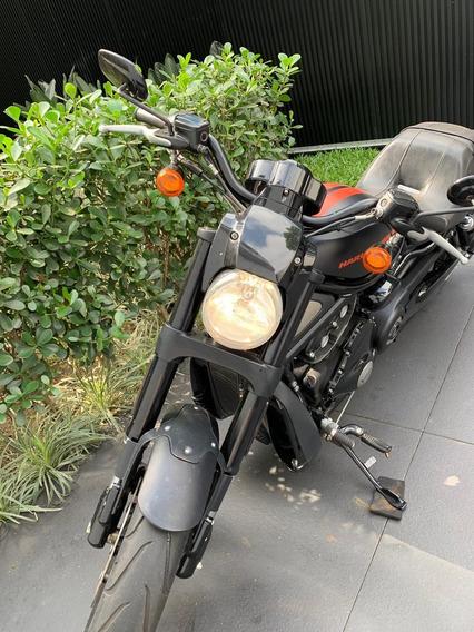 Harley Davidson V-rod 2012 Com Km Baixo