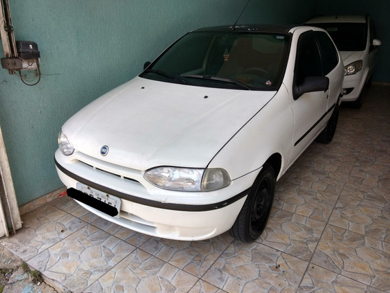 Fiat Palio Young Fire 1.0 Branco 2002