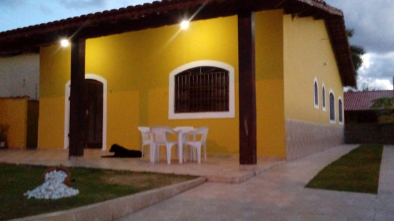 Casa 3 Dorm. C/ Edicula Prox. Mar Cibratel - Aceita Permuta