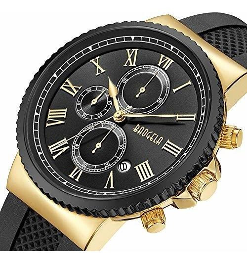 Men Business Watch Sports Chronograph Waterproof Analog Quar
