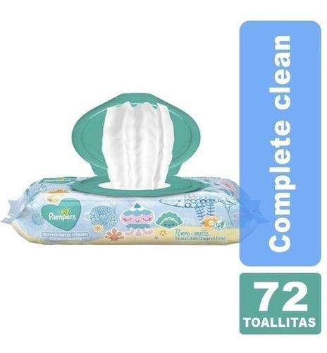 Imagen 1 de 5 de Toallitas Pampers® Complete Clean X 72