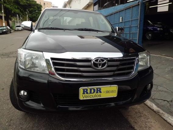 Toyota Hilux Cd 2.7 Flex Srv 4x2 2015 Único Dono