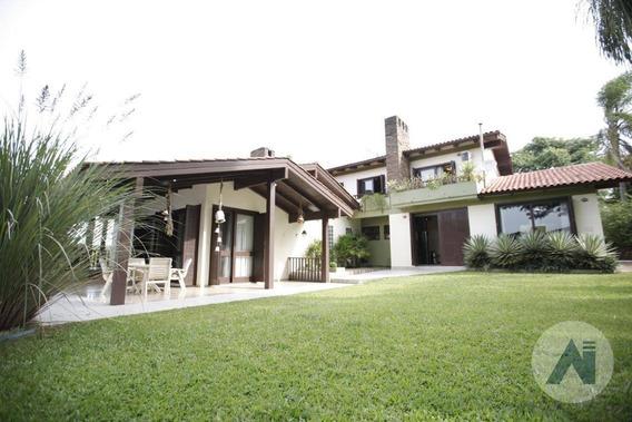 Casa Com 5 Dormitórios À Venda, 470 M² Por R$ 2.800.000 - Lago Azul - Estância Velha/rs - Ca2105