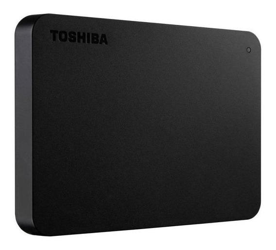 Hd Externo 1tb 2.5 Toshiba Hdtb410 Canvio Usb 3.0 Preto