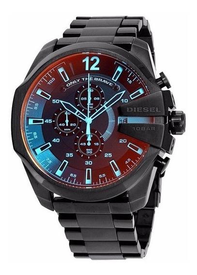Relógio Dz 4318 Preto Camaleão Original
