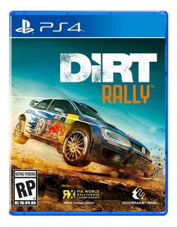 Dirt Rally Ps4 Fisico Sellado Envío Grátis Jazz Pc