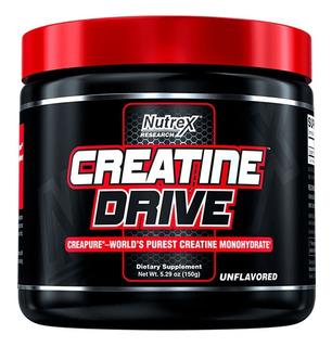 Creatine Drive 150g - Nutrex Sem Juros Tempo Limitado