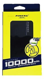 Bateria Externa Power Bank Pineng 10.000 Mah Original