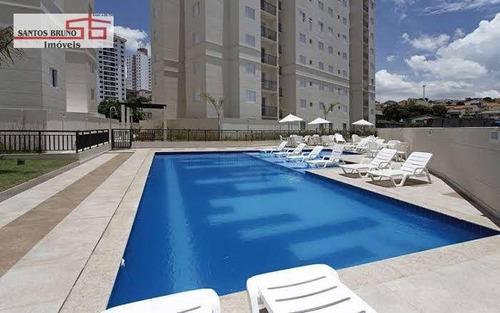 Apartamento Com 2 Dormitórios À Venda, 50 M² Por R$ 310.000,00 - Freguesia Do Ó - São Paulo/sp - Ap3596
