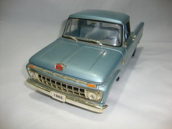 Miniatura Pickup Ford F 100 Sun Star 1/18 Peças Sucata