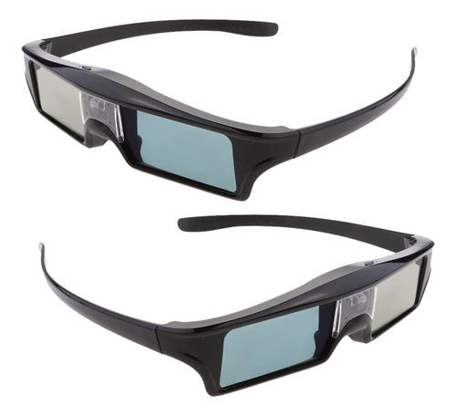 Imagen 1 de 9 de 2 Piezas De 144hz Recargable 3d Dlp-link Gafas Activas Para