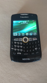 Blackberry Nextel Impecable Con Cargador Auto Y Acc.