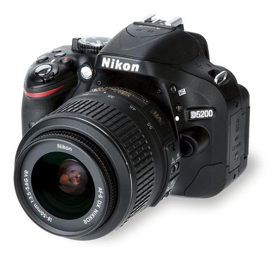 Câmera Profissional Dslr Nikon D5200