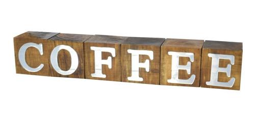 Imagem 1 de 1 de Cubos Coffee Espelhado Pinus Luxo