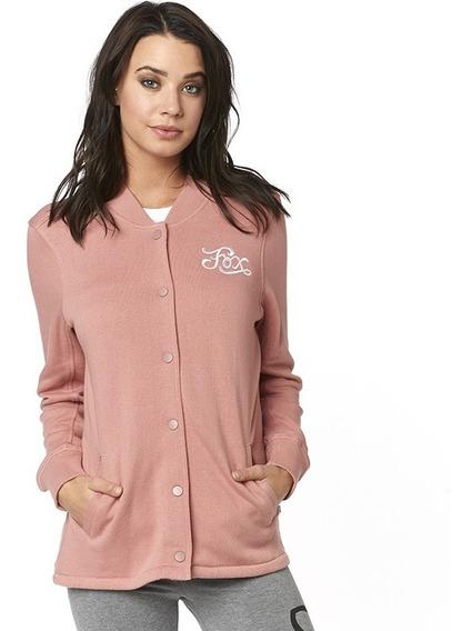 Sudadera Fox Five Flags Rosa Para Mujer