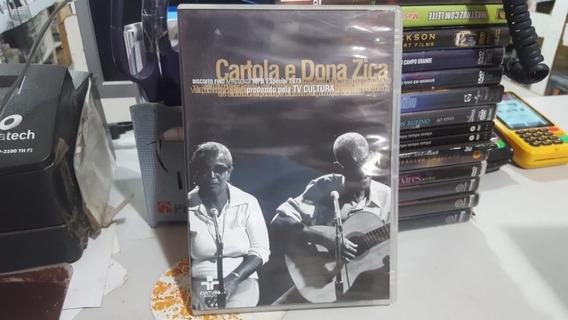 Dvd Cartola E Dona Zica - Tv Cultura - Programa Ensaio