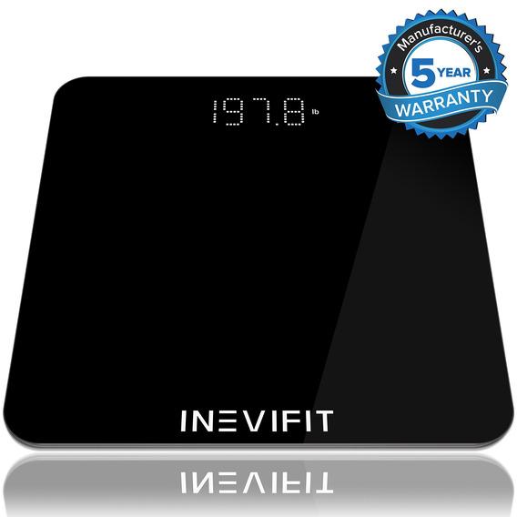 Inevifit Báscula De Baño, Báscula De Baño Digital De Alta P