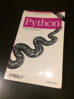 Python Guía De Bolsillo En Inglés