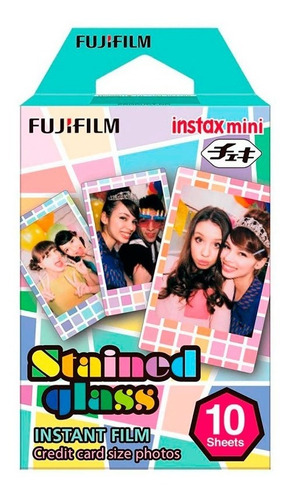 1 Rollo = 10 Fotos Fujifilm Instax Stained Glass