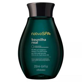 Nativa Spa Baunilha Real Óleo Desodorante Hidratante Corpora