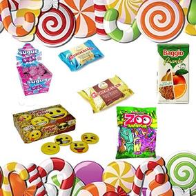 49890d268 Combo De Golosinas Para 40 Niños Para Cumpleaños - Souvenirs para tu ...