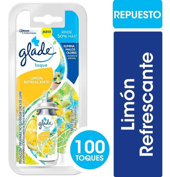 Glade Toque Aromas A Elegir - 12 Repuestos