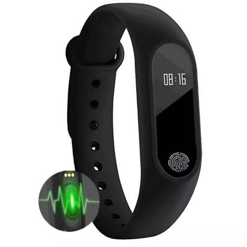Pulseira Inteligente Fitness Monitor Smartband Bluetooth M2