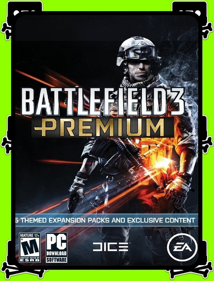 Battlefield 3 Premium Edition Pc - 100% Original (origin Key)
