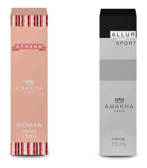 Athena Perfume Feminino Grife E Allur Allure Home Sport