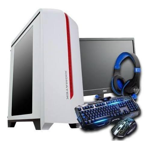 Pc Gamer Cpu Completa Amd A10 9600 Radeon R7 Monitor Top