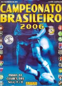 Álbum Campeonato Brasileiro 2006. 162 Figurinhas Bem Coladas