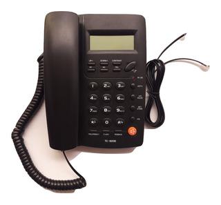 Teléfono Fijo Negro, Con Altavoz Nuevo, Envío Gratis!!