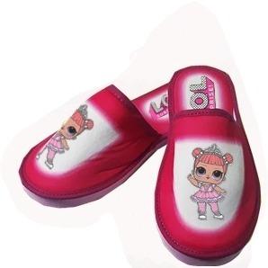 Pantuflas Para Nenas Color Fuxia