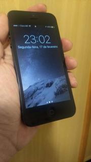 iPhone 5 Preto Usado Em Excelente Estado!! Apenas Venda!