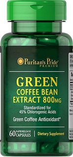Green Coffee (café Verde), 800mg, Puritan