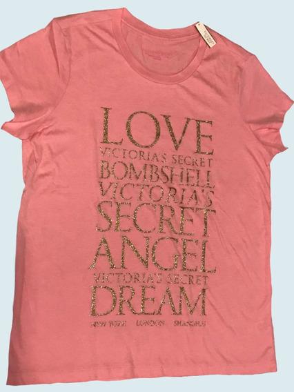 Remera Victoria Secret. Original De Mujer
