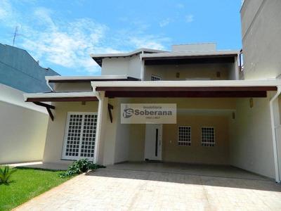 Sobrado Residencial À Venda, Mansões Santo Antônio, Campinas. - So0063
