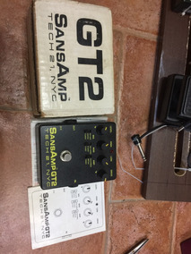 Pedal Sansamp Gt2. Tech 21