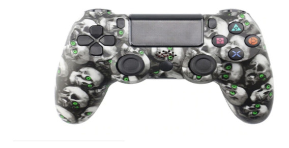 Controle Sem Fio Camuflado Para Ps4 Dualshock Joystick