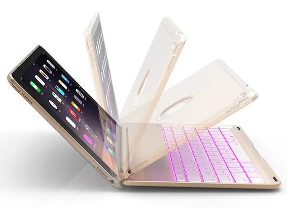 Capa Teclado Retroiluminado Para iPad Mini 1 Mini 2 Mini 3