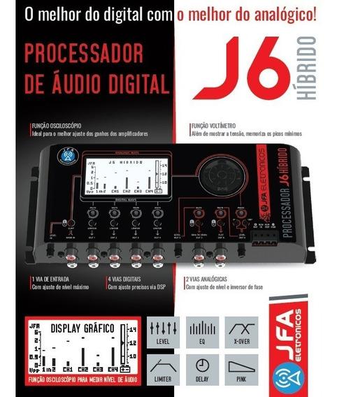 Processador Crossover Digital Jfa J6 Canal Tp Stetsom Expert
