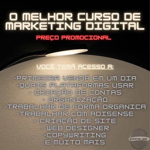 Imagem 1 de 2 de Curso De Marketing Digital Inicial Ao Avançado