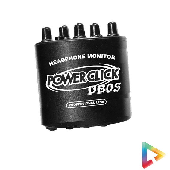 Amplificador Fone De Ouvido Power Click Db 05 - Hl Infomusic