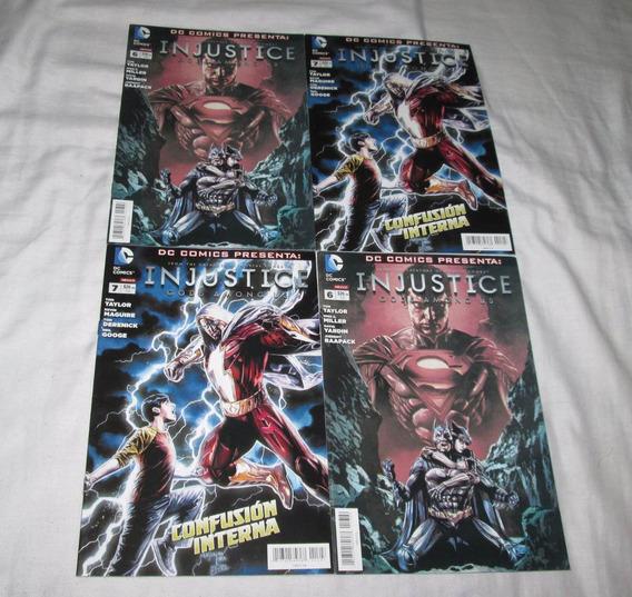 Injustice Gods Among Us Comics Televisa. 6, 7, 11