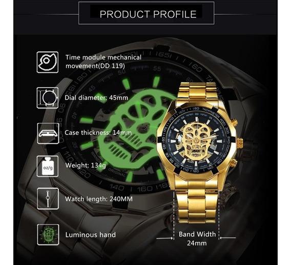 Relógio Skeleton Profusion