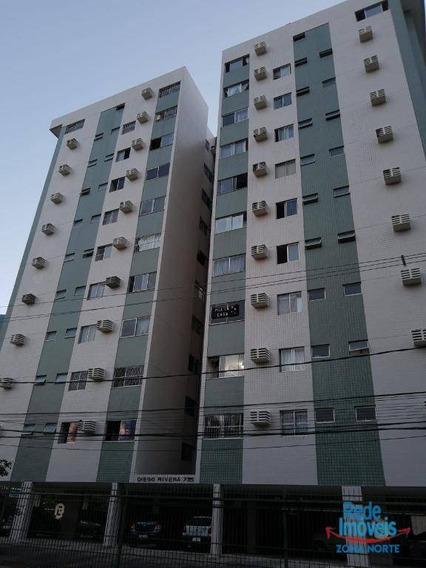 Apartamento Com 3 Dormitórios, 120 M² - Venda Por R$ 450.000,00 Ou Aluguel Por R$ 2.400,00/mês - Boa Viagem - Recife/pe - Ap10230