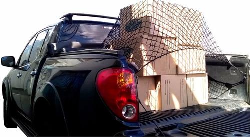 Imagem 1 de 4 de Rede Para Caçamba De Pickups Cargo Big G (trava Carga)