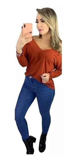 Blusa Blusinha Cropped Camiseta Feminina Roupas Atacado 2019