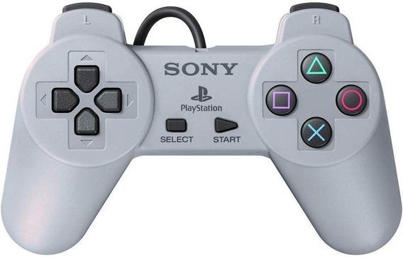 Controle Usb Ps1 Psx Ps One Classic Mini Playstation Sony Universal Serial Bus Funciona Em Ps3 E Em Ms Windows 10 Emu